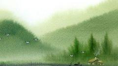 Как рисовать природу