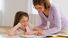 Как делать уроки с ребенком