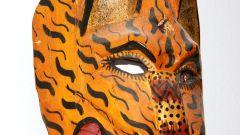 Как сделать маску хищника