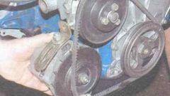 Как заменить ремень генератора