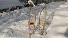 Как и с помощью чего мастерят снегоступы