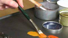 Как сделать краску