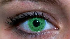 Как сделать глаза зелеными