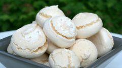 How to bake meringue