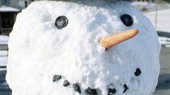 Как лепить из снега