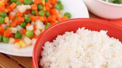 Как варить рис для салата