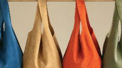 How to sew a leather bag