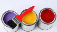 Как красить краской