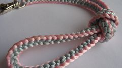 How to weave braids with thread