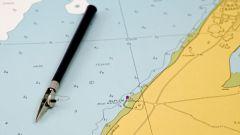 Как определить на карте координату