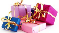 Как украсить подарок