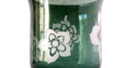 Как украсить вазу