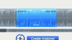 Как сделать рингтон для айфона