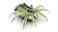 Как сделать паука из бумаги