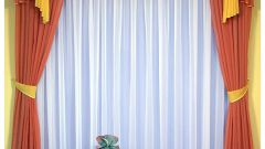 Как подобрать к обоям шторы