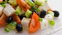 Греческий салат: как его приготовить