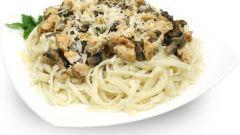Как приготовить вкусные спагетти