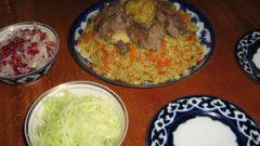 Как приготовить плов по-узбекски