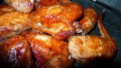 Как приготовить крылышки в духовке