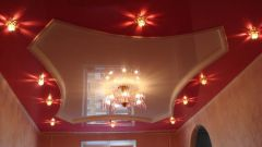 Как сделать подвесной потолок с подсветкой