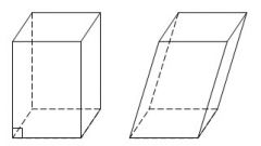 How to find the diagonal of a parallelepiped