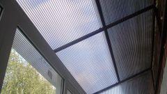Как сделать крышу для балкона
