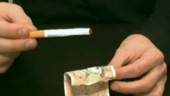 Как делать фокус с сигаретой