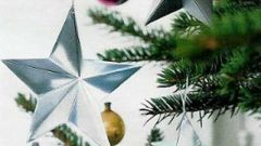 Как сделать оригами звезду