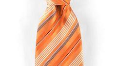 Как завязать большой узел на галстуке