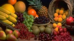 How to put beautiful fruits