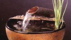 Как сделать домашний фонтан