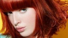 Как покрасить рыжие волосы