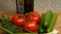 Как приготовить легкий салат