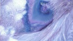Как нарисовать морозный узор