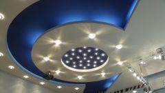 Как красиво сделать потолок