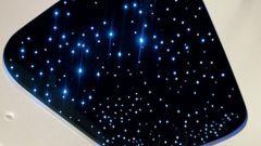 Как сделать звёздный потолок