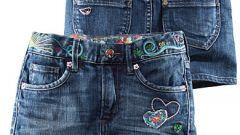 Как сшить из джинсов юбку