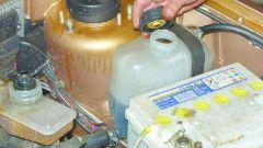 Как поменять охлаждающую жидкость