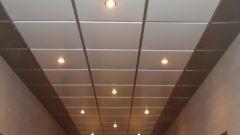 Как устанавливать подвесной потолок