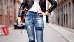Как починить джинсы