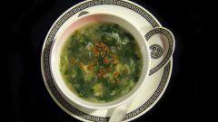 Как готовить суп с крапивой