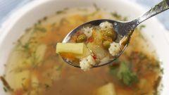 Как варить суп с макаронами