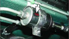 Как поменять топливный фильтр ваз