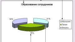 Как построить круговую диаграмму