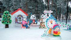 Как построить снежный городок
