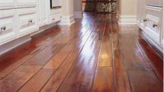 Как настелить деревянный пол