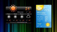 Как установить погоду на рабочий стол