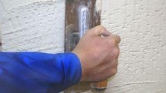 Как наносить штукатурку на стену
