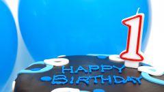 Как отпраздновать годик ребёнку