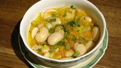 Как приготовить суп из белой фасоли